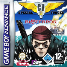 CT Special Forces - Bioterror Nintendo Game Boy Advance cover artwork
