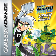 Danny Phantom - Urban Jungle Nintendo Game Boy Advance cover artwork