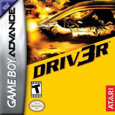 Driv3r Nintendo Game Boy Advance cover artwork