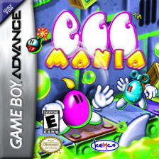Egg Mania Nintendo Game Boy Advance cover artwork
