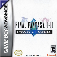 Final Fantasy I & II - Dawn of Souls Nintendo Game Boy Advance cover artwork