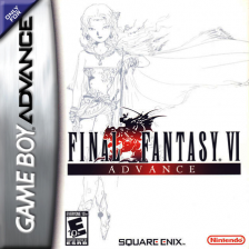 Final Fantasy VI Advance Nintendo Game Boy Advance cover artwork
