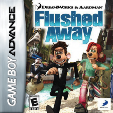 Flushed Away Nintendo Game Boy Advance cover artwork