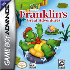 Franklin's Great Adventures Nintendo Game Boy Advance cover artwork