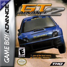 GT Advance 2 - Rally Racing Nintendo Game Boy Advance cover artwork