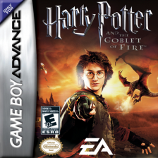 Harry Potter and the Goblet of Fire Nintendo Game Boy Advance cover artwork