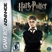 Harry Potter and the Order of the Phoenix Nintendo Game Boy Advance cover artwork