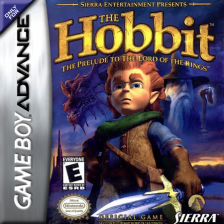 Hobbit, The Nintendo Game Boy Advance cover artwork