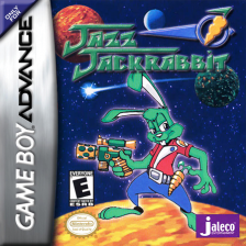 Jazz Jackrabbit Nintendo Game Boy Advance cover artwork
