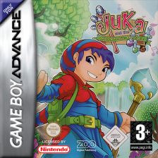 Juka and the Monophonic Menace Nintendo Game Boy Advance cover artwork