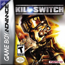 Kill Switch Nintendo Game Boy Advance cover artwork