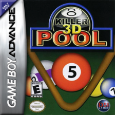 Killer 3D Pool Nintendo Game Boy Advance cover artwork