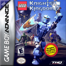 Knights' Kingdom Nintendo Game Boy Advance cover artwork