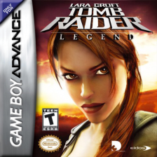 Lara Croft Tomb Raider - Legend Nintendo Game Boy Advance cover artwork