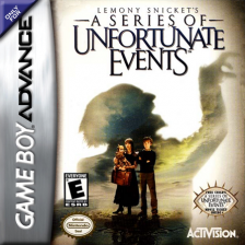 Lemony Snicket's A Series of Unfortunate Events Nintendo Game Boy Advance cover artwork
