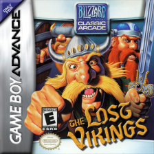 Lost Vikings, The Nintendo Game Boy Advance cover artwork