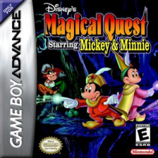 Magical Quest Starring Mickey & Minnie Nintendo Game Boy Advance cover artwork