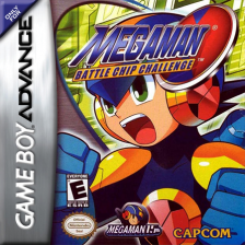 Mega Man Battle Chip Challenge Nintendo Game Boy Advance cover artwork