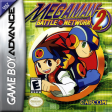 Mega Man Battle Network 2 Nintendo Game Boy Advance cover artwork