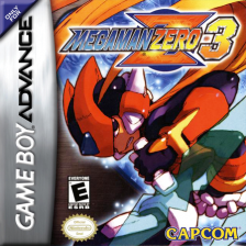 Mega Man Zero 3 Nintendo Game Boy Advance cover artwork