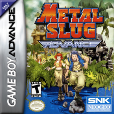 Metal Slug Advance Nintendo Game Boy Advance cover artwork