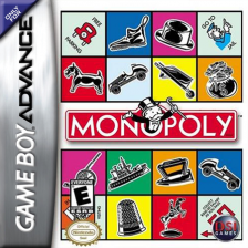 Monopoly Nintendo Game Boy Advance cover artwork