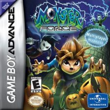 Monster Force Nintendo Game Boy Advance cover artwork