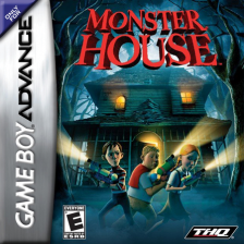 Monster House Nintendo Game Boy Advance cover artwork
