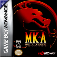 Mortal Kombat Advance Nintendo Game Boy Advance cover artwork