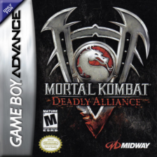 Mortal Kombat - Deadly Alliance Nintendo Game Boy Advance cover artwork