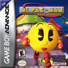 Ms. Pac-Man - Maze Madness Nintendo Game Boy Advance cover artwork