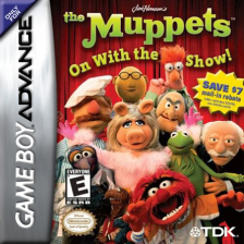 Muppets, The - On with the Show! Nintendo Game Boy Advance cover artwork