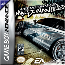Need for Speed - Most Wanted Nintendo Game Boy Advance cover artwork