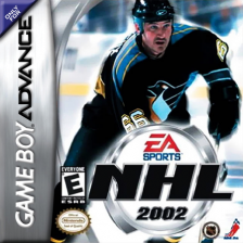 NHL 2002 Nintendo Game Boy Advance cover artwork