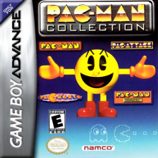 Pac-Man Collection Nintendo Game Boy Advance cover artwork