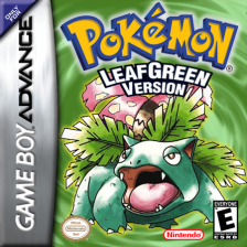 Pokemon - Leaf Green Version Nintendo Game Boy Advance cover artwork