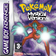 Pokemon Mystical Version Nintendo Game Boy Advance cover artwork