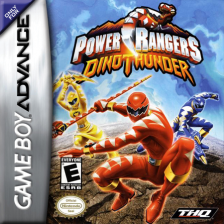 Power Rangers - Dino Thunder Nintendo Game Boy Advance cover artwork