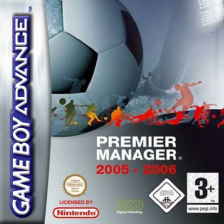 Premier Manager 2005-2006 Nintendo Game Boy Advance cover artwork