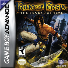 Prince of Persia - The Sands of Time Nintendo Game Boy Advance cover artwork