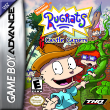 Rugrats - Castle Capers Nintendo Game Boy Advance cover artwork