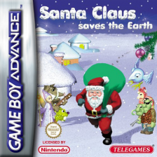 Santa Claus Saves the Earth Nintendo Game Boy Advance cover artwork