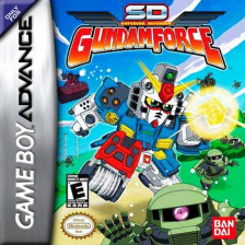 SD Gundam Force Nintendo Game Boy Advance cover artwork