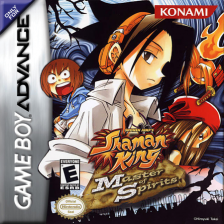 Shaman King - Master of Spirits Nintendo Game Boy Advance cover artwork