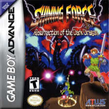Shining Force - Resurrection of the Dark Dragon Nintendo Game Boy Advance cover artwork
