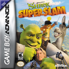 Shrek - Super Slam Nintendo Game Boy Advance cover artwork