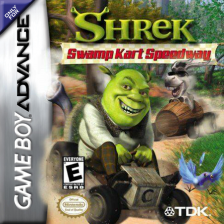 Shrek - Swamp Kart Speedway Nintendo Game Boy Advance cover artwork