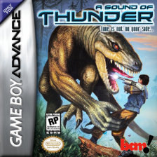 Sound of Thunder, A Nintendo Game Boy Advance cover artwork