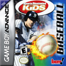 Sports Illustrated for Kids - Baseball Nintendo Game Boy Advance cover artwork