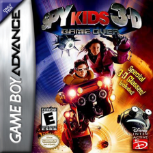 Spy Kids 3-D - Game Over Nintendo Game Boy Advance cover artwork